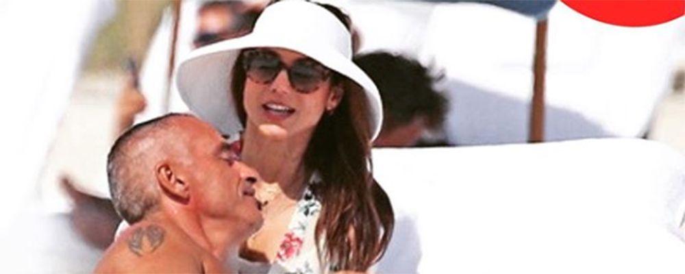 Eros Ramazzotti ritrova il sorriso con Valentina Bilbao