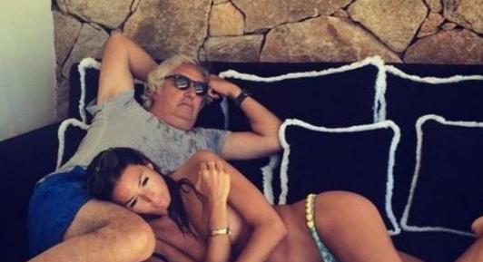 Elisabetta Gregoraci e il (presunto) flirt con l'imprenditore, Flavio Briatore riparte con la Miss