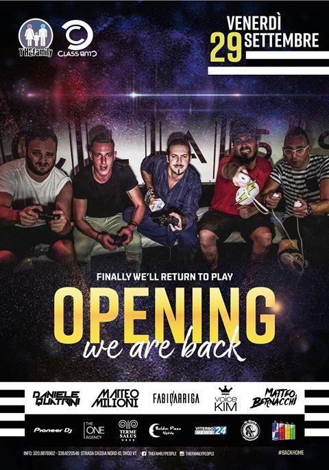 Inaugurazione della discoteca Classclub di Viterbo by Gianni Trombetta  Ospite la Eds WP Eventi nella persona di Erno Rossi e William Vittori.