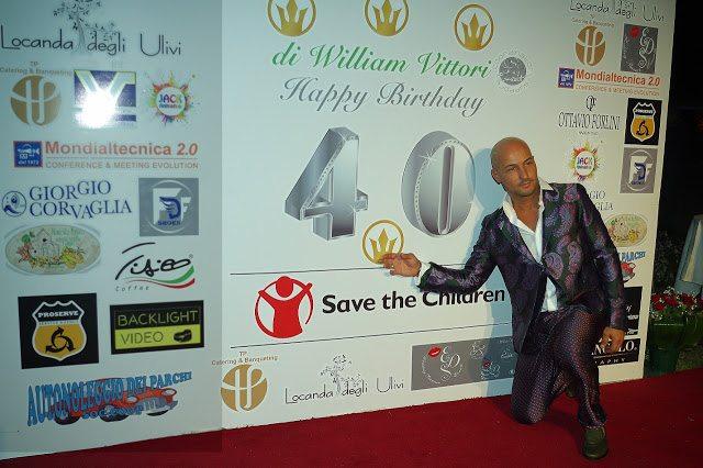 """Video Ufficiale della meravigliosa festa di compleanno Vip di William Vittori per il suo """"My Wonderful Forty"""" by Eds WP Eventi"""