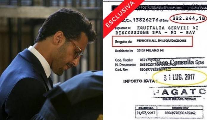 Fabrizio Corona oggi in aula! L'ex re dei paparazzi rottama le tasse versando 300 mila euro al mese