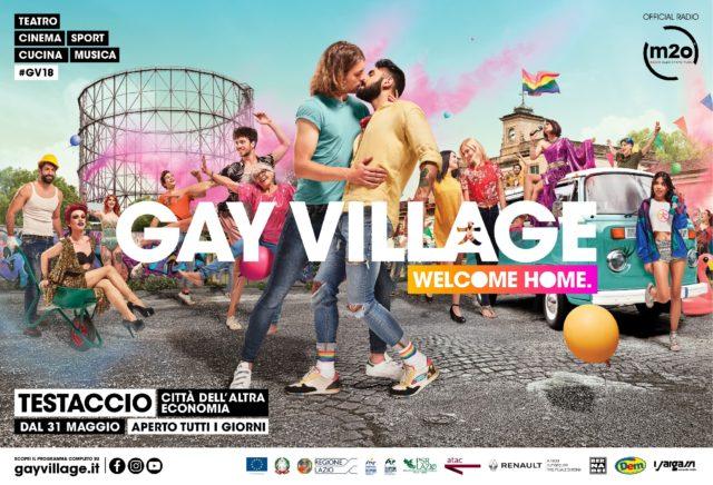 Sentitevi a Casa.!! Dove un Bacio può essere Rivoluzione... Bentornato a casa Gay Village