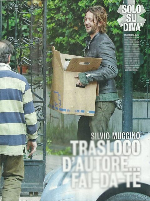 Silvio Muccino, trasloco fai da te dopo la lite col fratello Gabriele