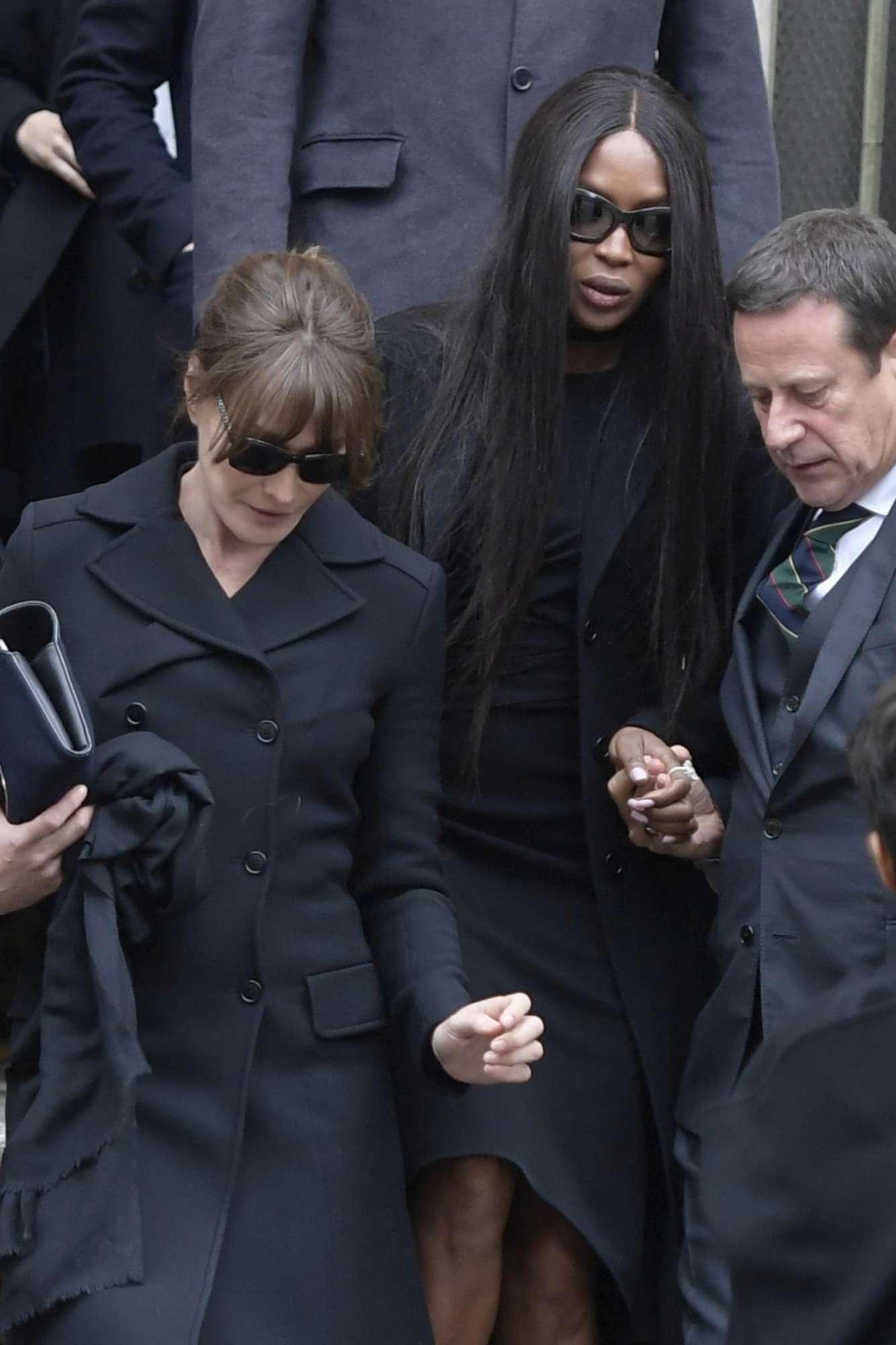 Lapo, Naomi, la Moss e la Beckham a Milano per ricordare la Sozzani