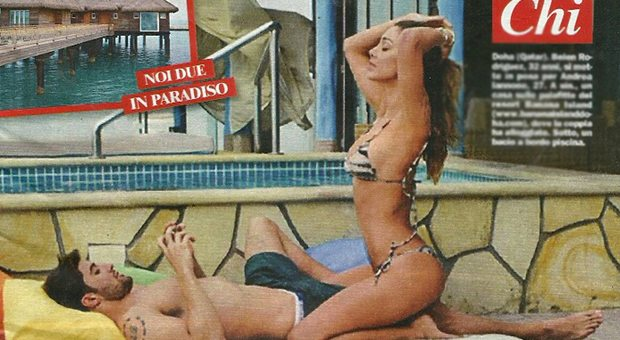 Belen Rodriguez e Andrea Iannone, vacanze a Doha nel resort di lusso