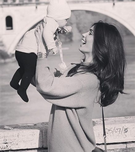 """Federica Nargi e la dedica alla figlia Sofia: """"Hai cambiato il ritmo del mio cuore"""""""