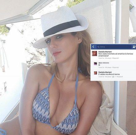 """Terremoto, karma per l'amatriciana"", l'ex gieffina Daniela Martani querela chi la insulta sul web"