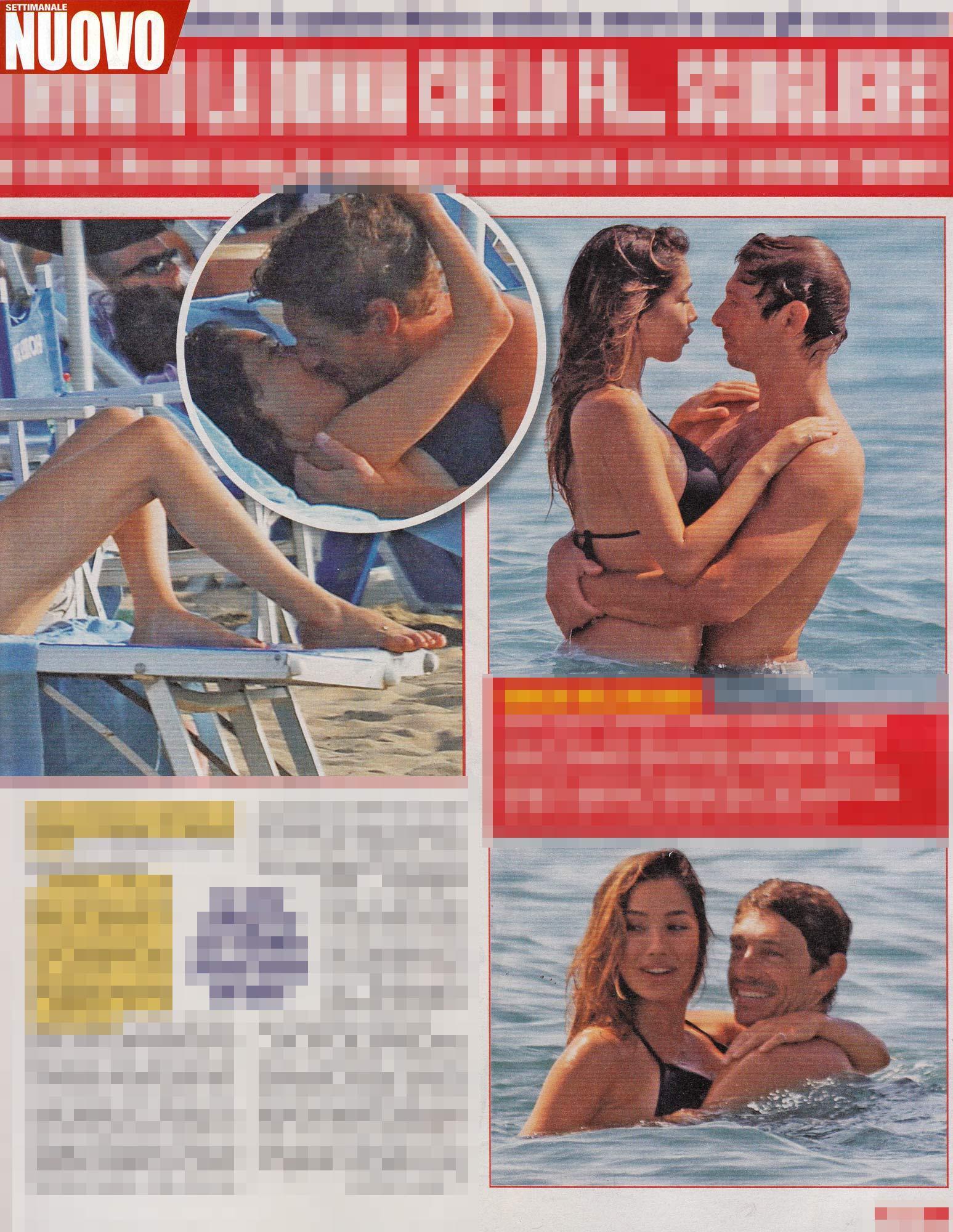 Giorgio Pasotti, baci e coccole con la giovane fidanzata