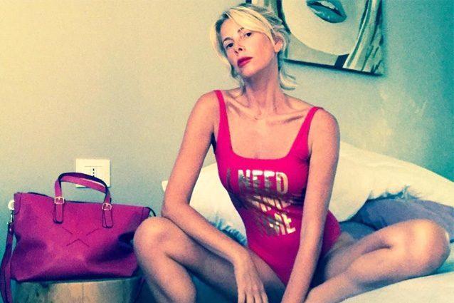 """Alessia Marcuzzi accusata di essere troppo magra, lei replica: """"Mangio e sono sana"""""""