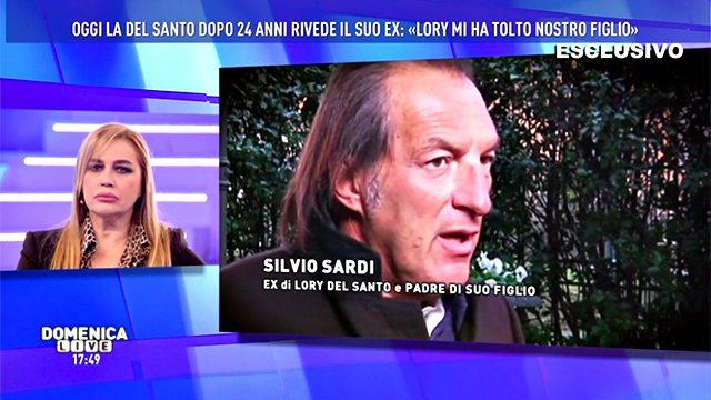 """""""Lory Del Santo? Ammetto le mie colpe"""". Silvio Sardi così da Barbara D'Urso"""