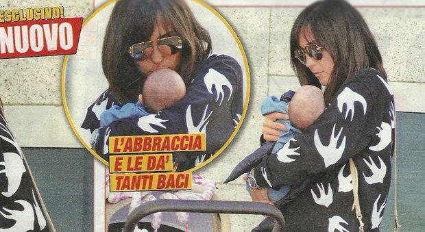 Caterina Balivo mamma bis: pomeriggio con la figlia Cora a Milano