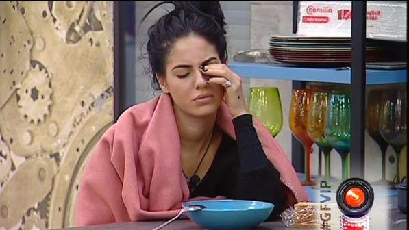 """""""Grande Fratello Vip"""", serpeggia la stanchezza: Giulia in crisi"""