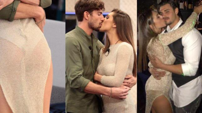 Cecilia esce e bacia Monte? Colpa del vestito