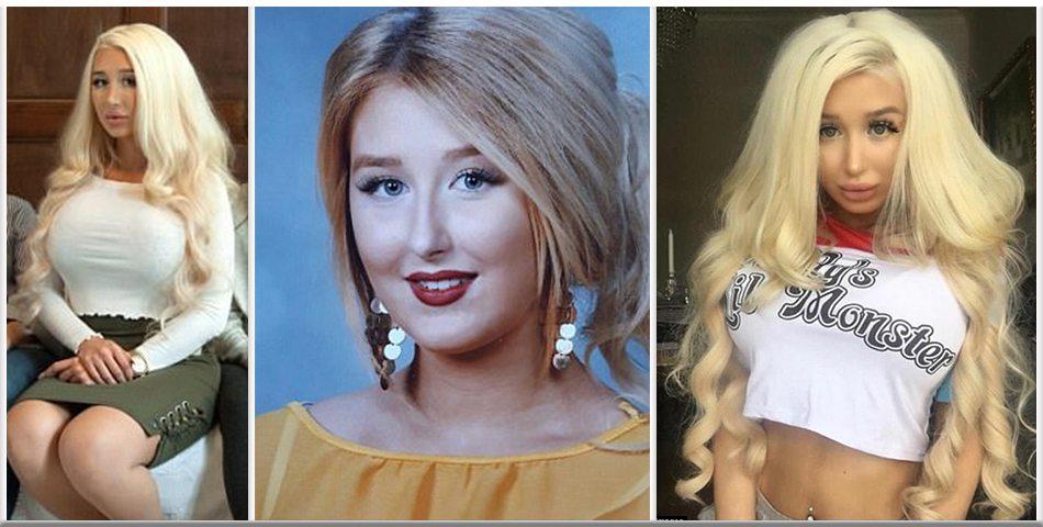 Amanda Ahola, la modella finlandese che è diventata la sosia di Barbie