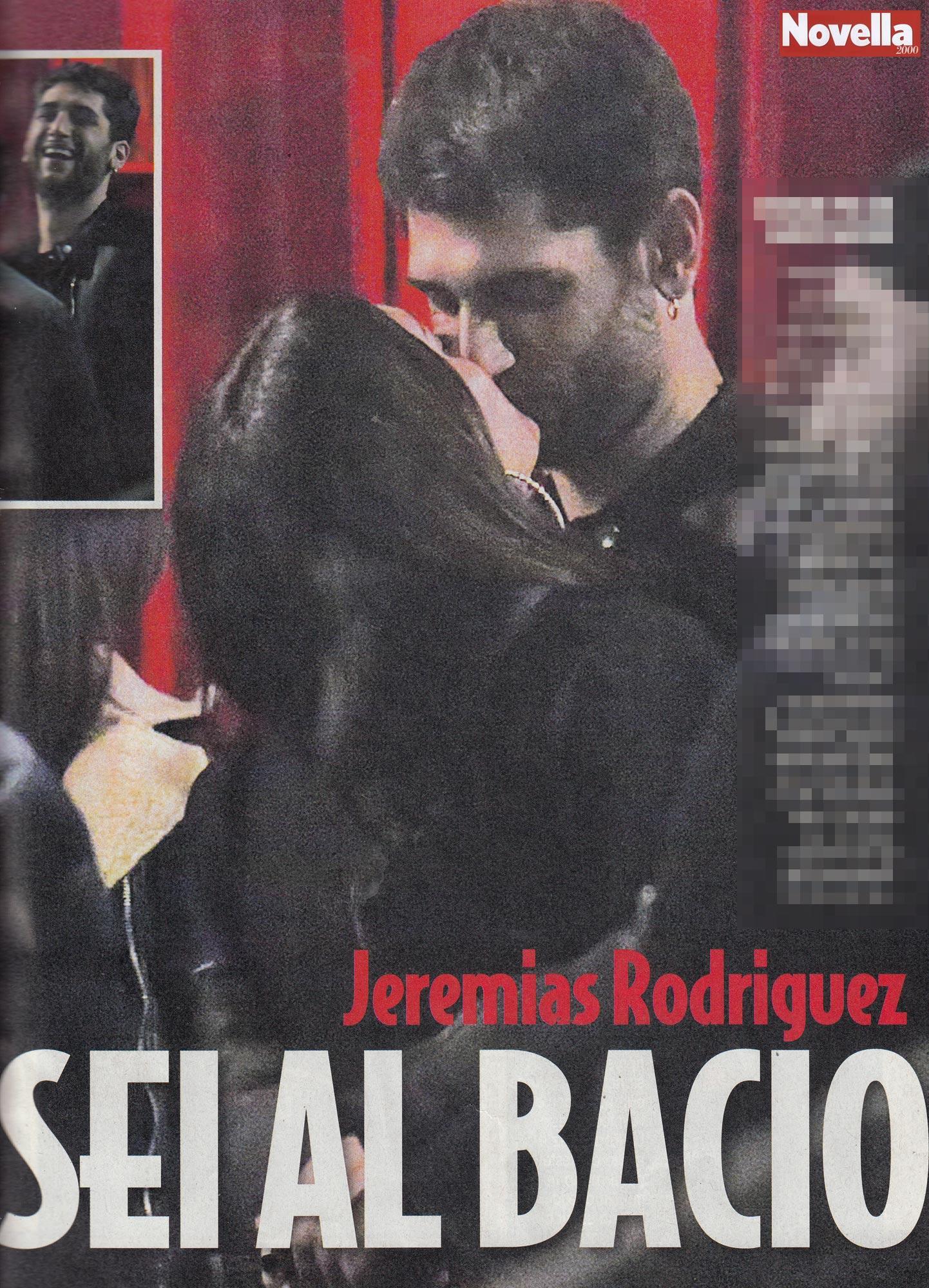 Jeremias Rodriguez, serata al bacio con Sara
