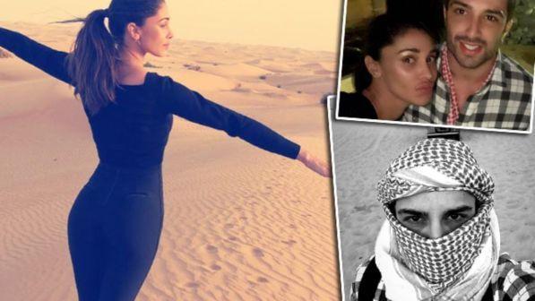 Belen e Andrea, guarda che fuga nel deserto