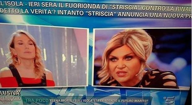 """Nadia Rinaldi a Pomeriggio5: """"Canna gate, la produzione sa. Perché ci fanno scannare tra noi?"""""""