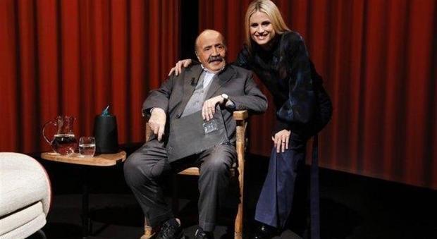 Michelle Hunziker e i rapporti con l'ex Eros Ramazzotti: