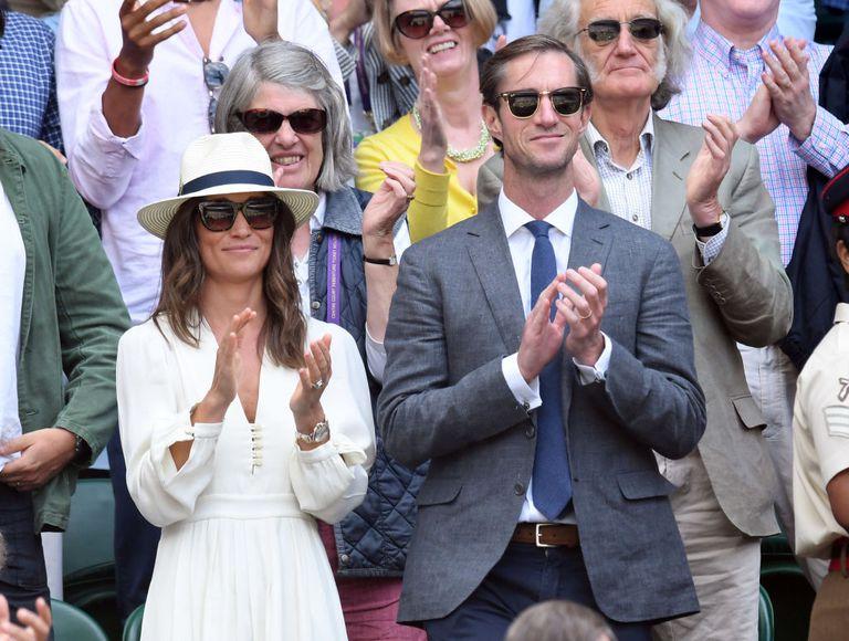 Pippa Middleton aspetta il suo primo figlio con il marito James Matthews