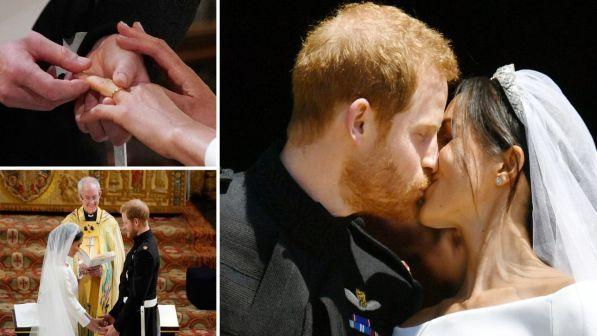 Royal wedding, il principe Harry e Meghan hanno detto sì