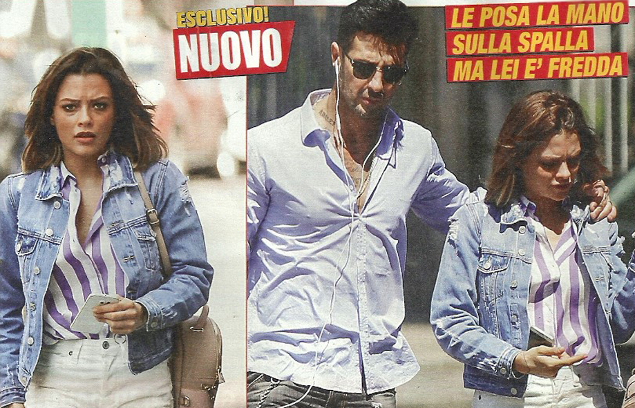 Fabrizio Corona e Silvia Provvedi in crisi: lei è arrabbiata, lui cerca di riconquistarla...col motorino