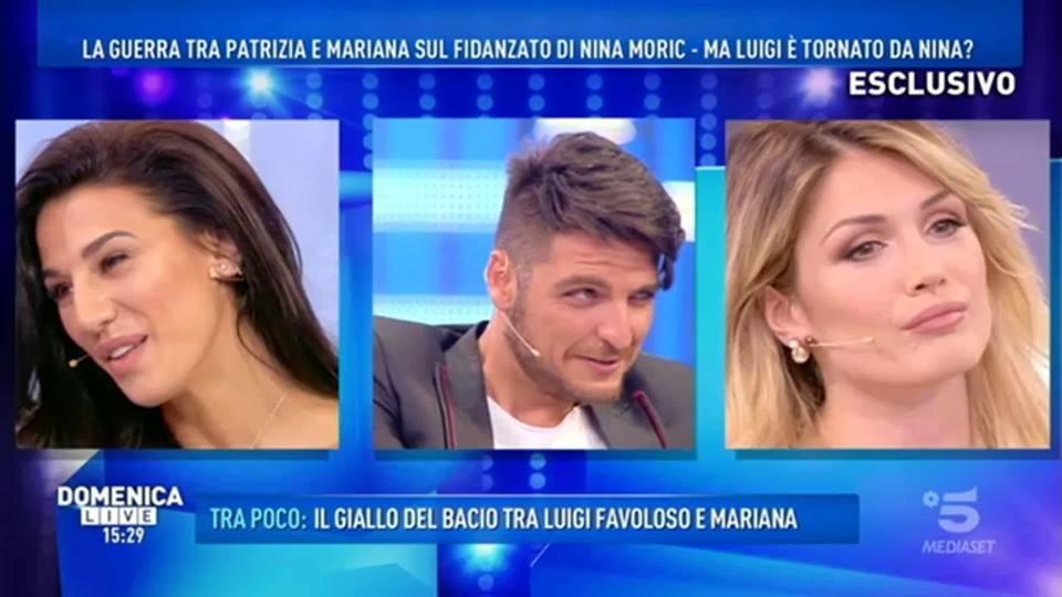 Gf15, Mariana attacca Luigi Favoloso: «Nessun bacio, lui ci ha provato io mi sono allontanata»