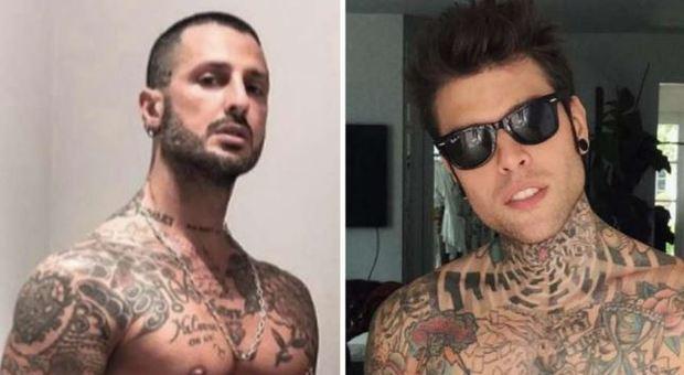 Fabrizio Corona punge Fedez: «Ricordi quella sera a casa mia con due amici?»