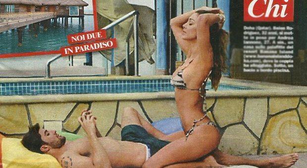 Belen e Andrea Iannone, vacanza piccante nel resort di lusso