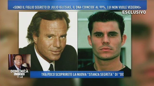 """""""Sono il figlio di Julio Iglesias"""", Javier Sanchez parla per la prima volta dopo il test del Dna"""