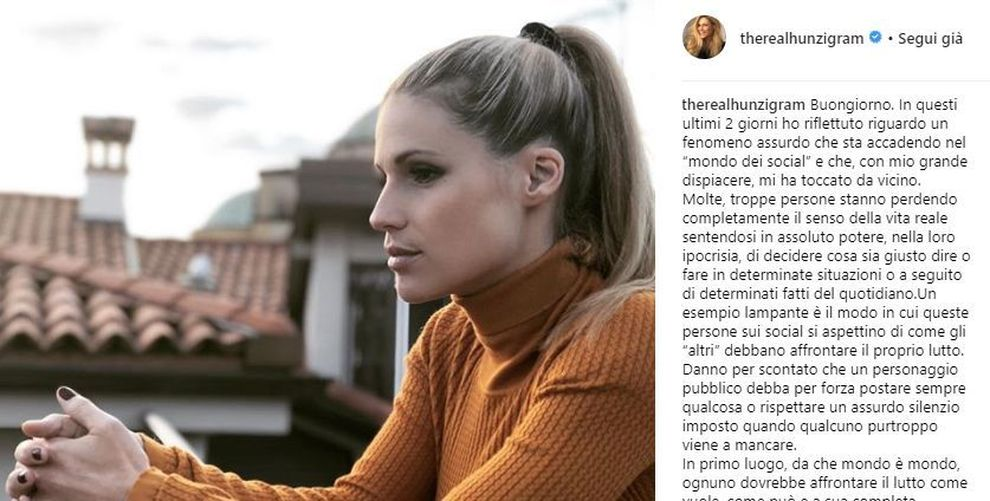 """Michelle Hunziker risponde alle polemiche: """"Ecco perché non ho mai dedicato un post a Fabrizio Frizzi"""""""