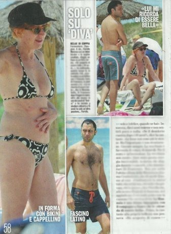 Fiorella Mannoia, a Formentera col fidanzato Carlo Di Francesco, coach di