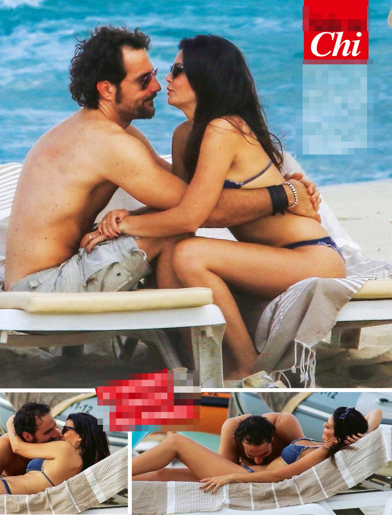 Laura Torrisi, baci h0t con Luca ma con Pieraccioni va a scuola