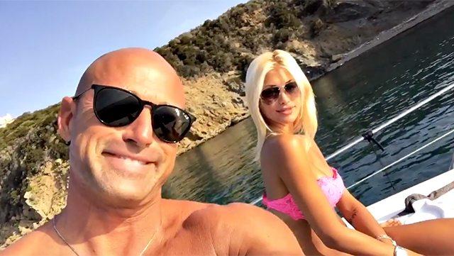 Stefano Bettarini presenta la fidanzata: chi è Nicoletta Larini