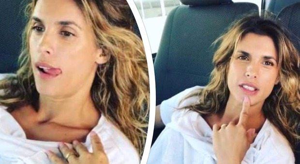 """Elisabetta Canalis struccata: """"Mi sento un cesso a pedali"""""""