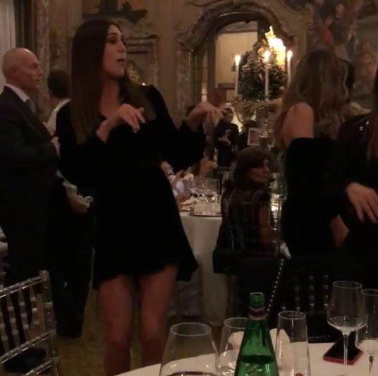 Palazzo Visconti a Milano, cena di gala con le sorelle Rodriguez