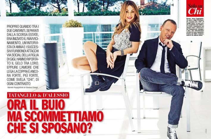 Anna Tatangelo e Gigi D'Alessio: