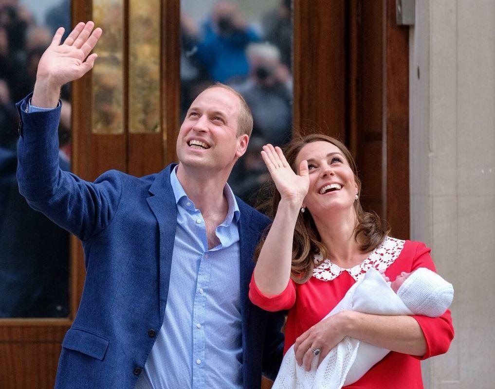 Kate Middleton ha partorito, è un maschio! E? nato il terzo