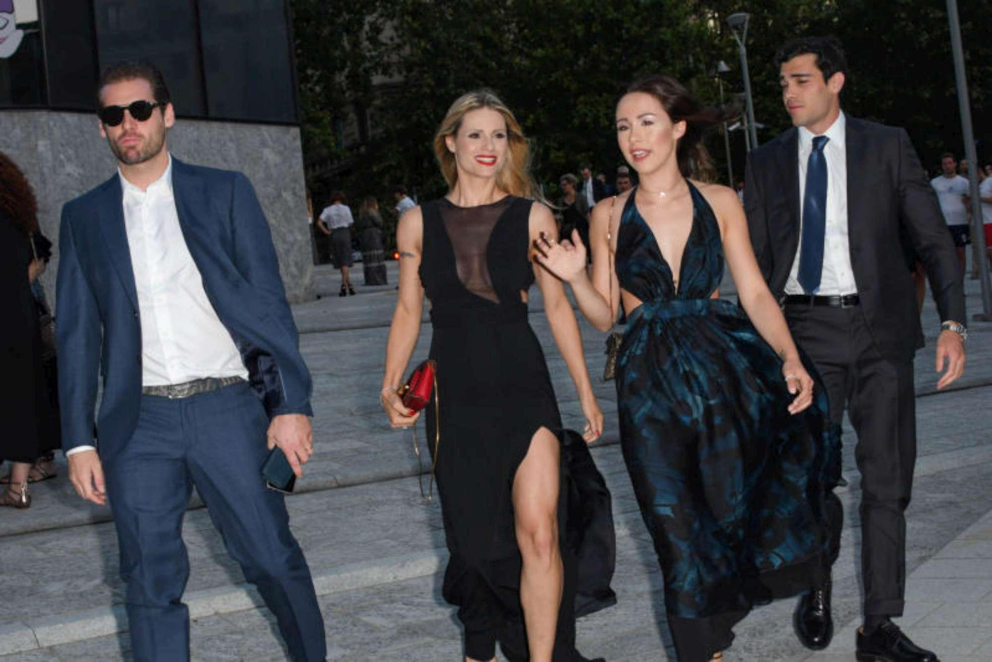 Aurora Ramazzotti e Michelle Hunziker, doppia coppia innamorata