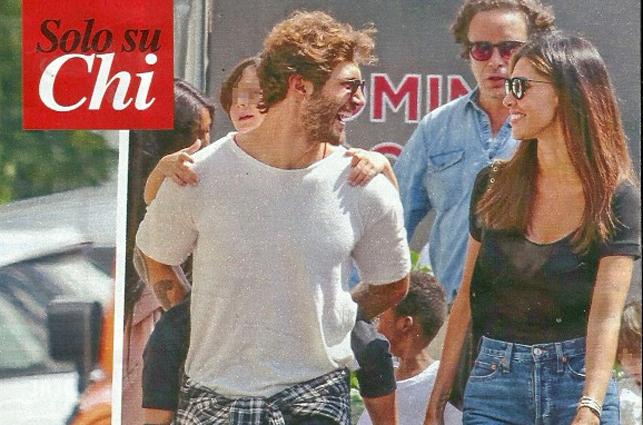 Belen Rodriguez in crisi con Iannone: shopping e pranzo a casa di Stefano De Martino
