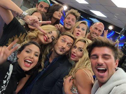 Totti show: