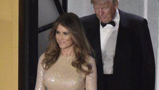 Melania Trump, una First Lady tutta d'oro