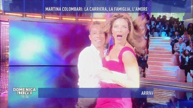 Il ballo se. xy di Martina Colombari, bellezza eterna a Domenica Live!