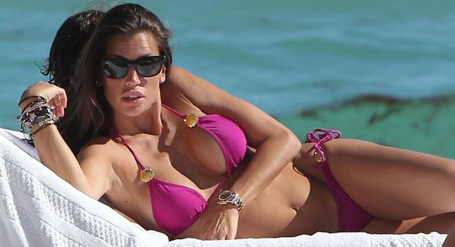 Claudia Galanti e il mistero dell'appartamento di super lusso