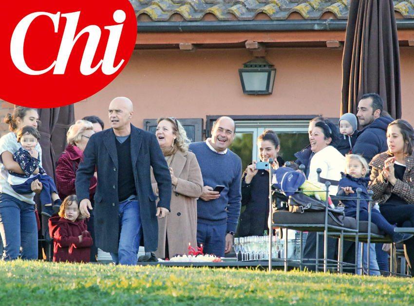 Luca Zingaretti, festa in famiglia per i 56 anni