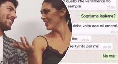 Cecilia e Ignazio, il messaggio privato finisce su Whatsapp e fa impazzire le fan