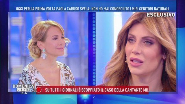 Paola Caruso, confessione shock: