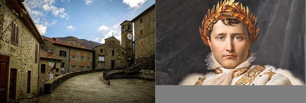 """Raggiolo commemora Napoleone, l'illustre """"avo"""""""