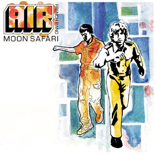 Agosto 2020: Air - MOON SAFARI (1998)
