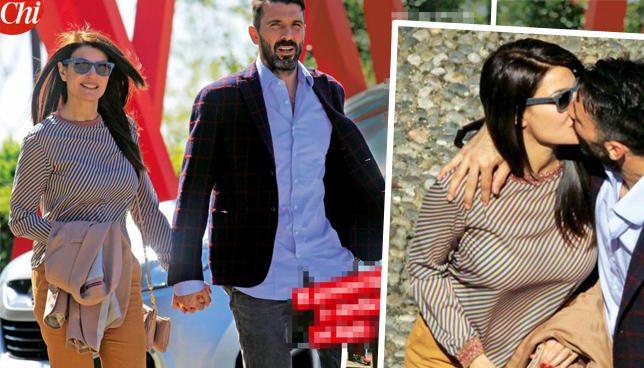 Ilaria D'Amico e Gigi Buffon, pranzo romantico e giochi con Leopoldo Mattia