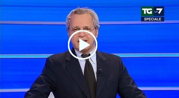 Mentana contro Rocco Casalino :
